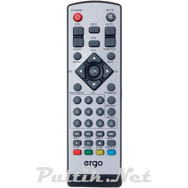 пульт для ERGO DVB-T2 1204