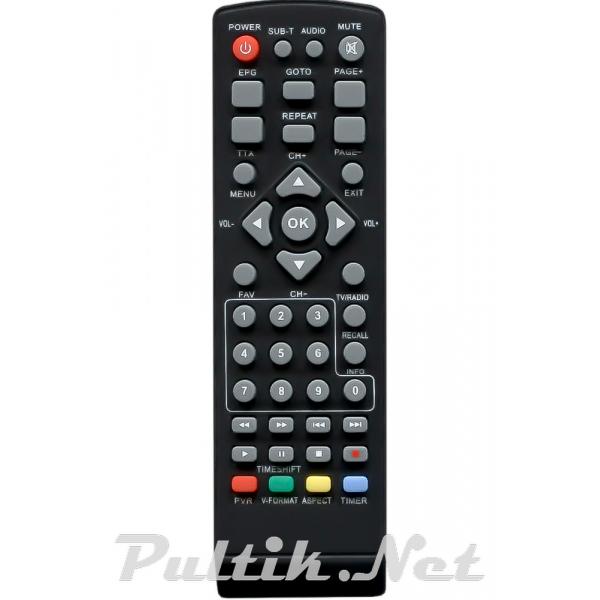 пульт для TIGER T2 IPTV