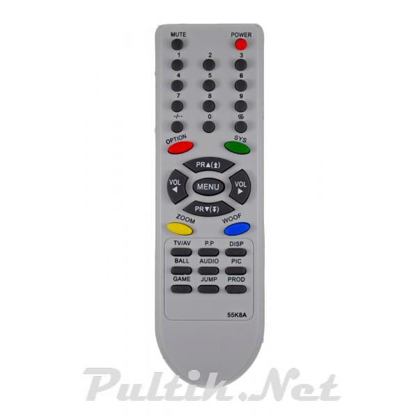 пульт для CHINA TV (DAEWOO, WEGA, TVA) LG 55K8A корпус LG