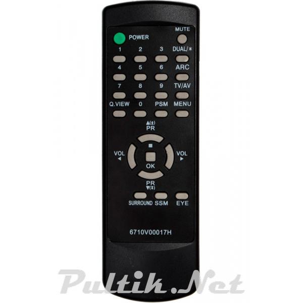 пульт для LG 6710V00017H
