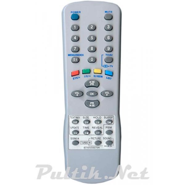 пульт для LG 6710V00070A