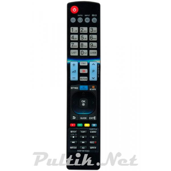 пульт для LG AKB73615303