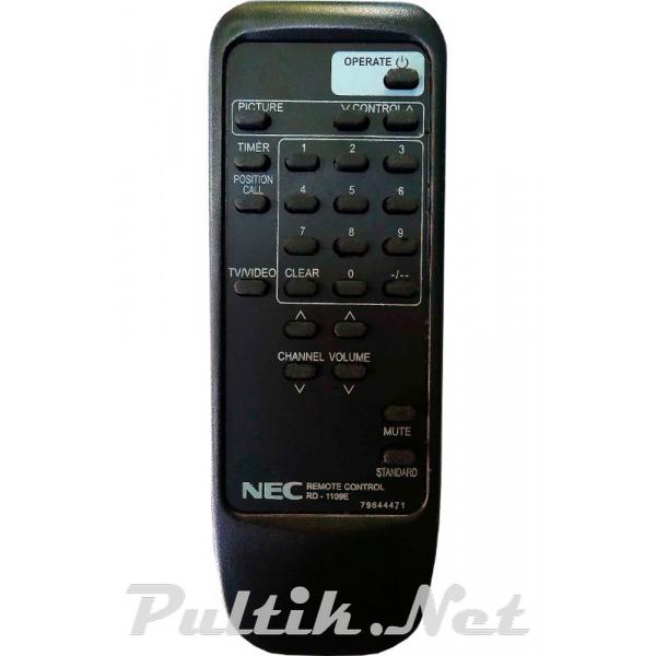 пульт для NEC RD-1109E