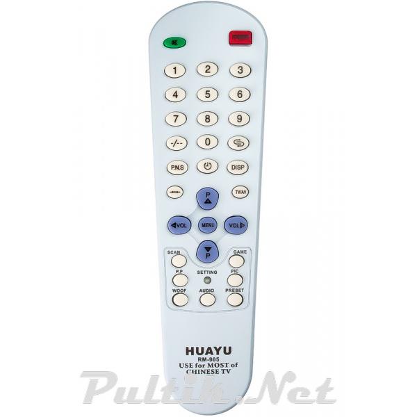 пульт для CHINA TV RM-905